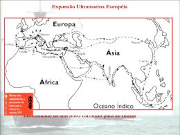 Expansão Ultramarina Européia Contexto Histórico Transição da