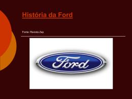 Hist Ford - carro raro