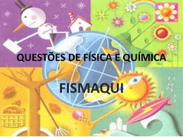 questões de física e química fismaqui