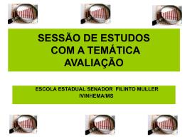 SESSÃO DE ESTUDOS - cinthyamaria