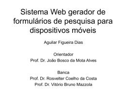 Slide 1 - Projetos