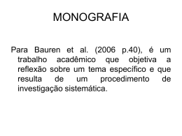Aula 1 Monografia