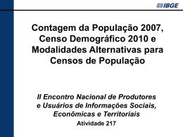 nuevo - IBGE