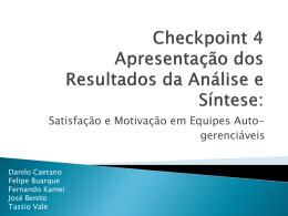 Checkpoint 4 - Apresentação