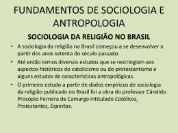 sociologia da religião no brasil