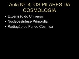 Aula 4: Cosmologia