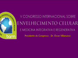 ELECTROMAGNETIC THERAPY V CONGRESSO A4M AGOSTO