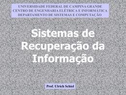 Parte 1: Indexação - Computação UFCG