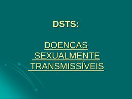 dsts: doenças sexualmente transmissíveis dst