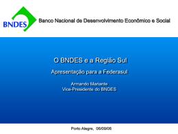 BNDES - Federasul
