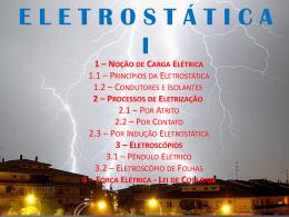 Eletrostatica - Colégio Machado de Assis