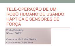 Tele-operação de um Robô Humanóide usando Háptica - LAR