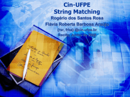 O(1) - Centro de Informática da UFPE