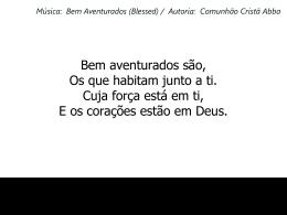 BEM AVENTURADOS5