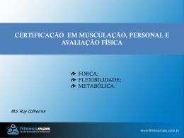 Certificação em Musculação, Personal e Avaliação