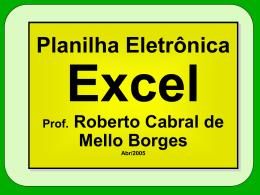 Funções Excel