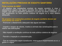 unidades hunter de contribuição dos aparelhos sanitários e