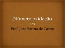 Número oxidação