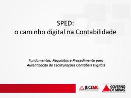 SPED - Junta Comercial do Estado de Minas Gerais