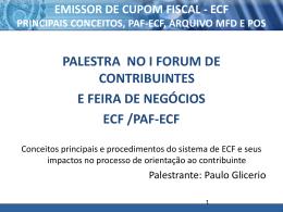PAF – ECF