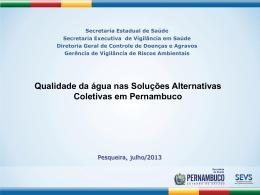 Palestra da Secretaria Executiva de Vigilância em Saúde