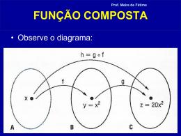FUNÇÃO COMPOSTA