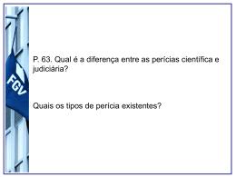 Aula_pericia_e_gestao - Acadêmico de Direito da FGV