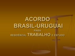 ACORDO BRASIL