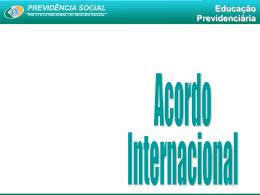 ACORDO INTERNACIONAL - UNIPAC