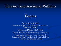 Tratados - Conceito - Direito Internacional
