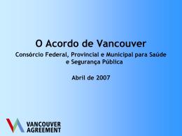 O Acordo de Vancouver