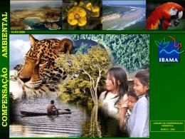 Apresentação - Aplicação dos Recursos da Compensação Ambiental