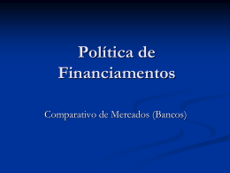 Política de Financiamentos