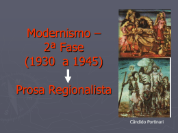 Modernismo – 1ª Fase – Poesia (1922 a 1930)