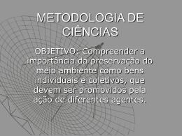 METODOLOGIA DE CIÊNCIAS2