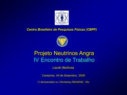 Projeto Neutrinos Angra