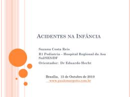 Acidentes na infância - Paulo Roberto Margotto