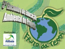 5º Encontro de Educação Ambiental do Projeto