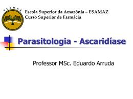 Ascaridiase-2014 - Página inicial