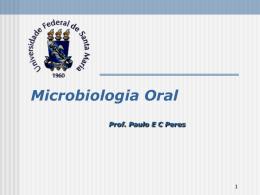 Ecologia Bucal - UAB