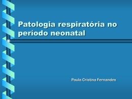 Características do pulmão do RN
