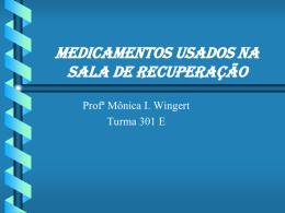 Aula 52 Medicamentos usados na SRPA