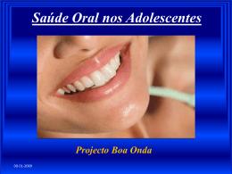 Saúde Oral nos Adolescentes