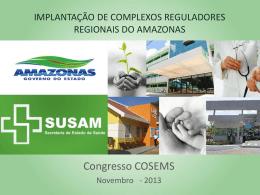 Implantação de Complexos Reguladores Regionais do