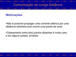 Comunicação Longa Distancia