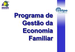 programa de gestão da economia familiar (ct 51)