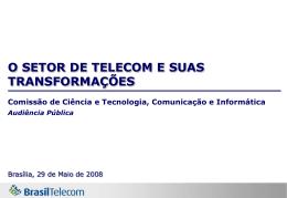 Apresentação Brasil Telecom 29 de maio