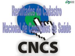 Slide 1 - Conselho Nacional de Saúde