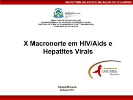Baixe o arquivo - Departamento de DST, Aids e Hepatites Virais