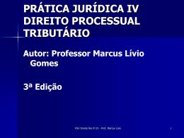 power point aulas - Acadêmico de Direito da FGV